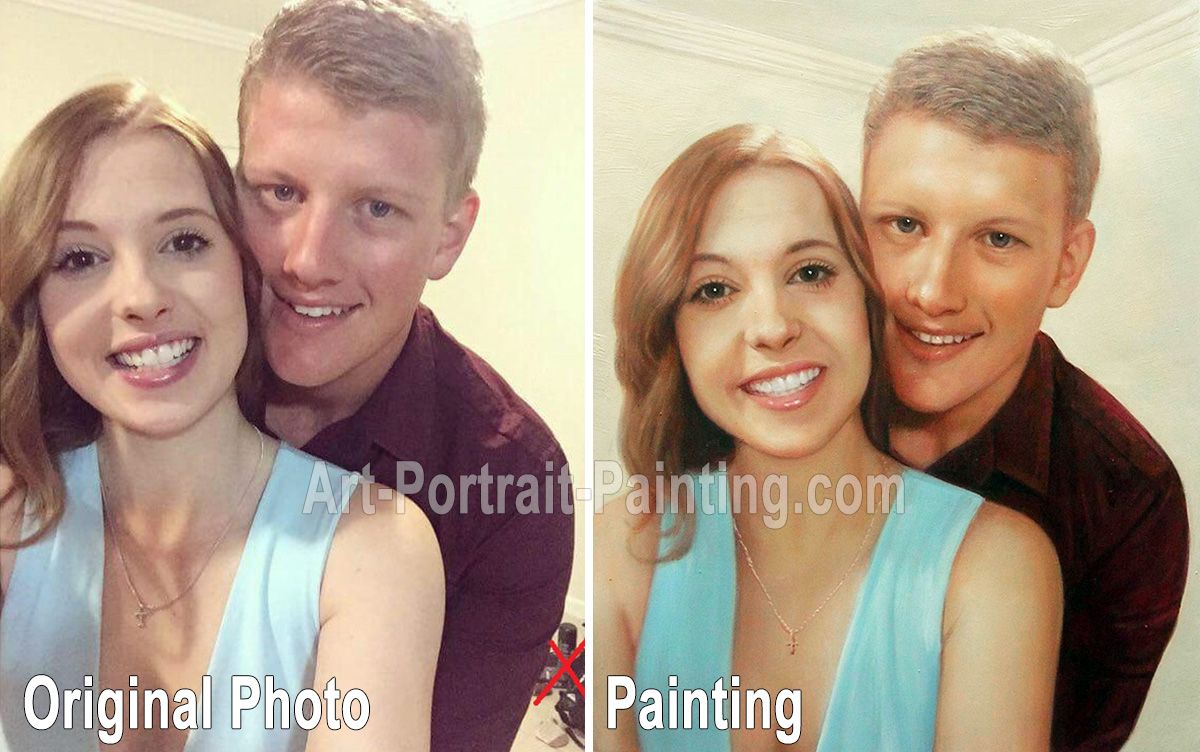 Portrait Painting : Family & Wedding