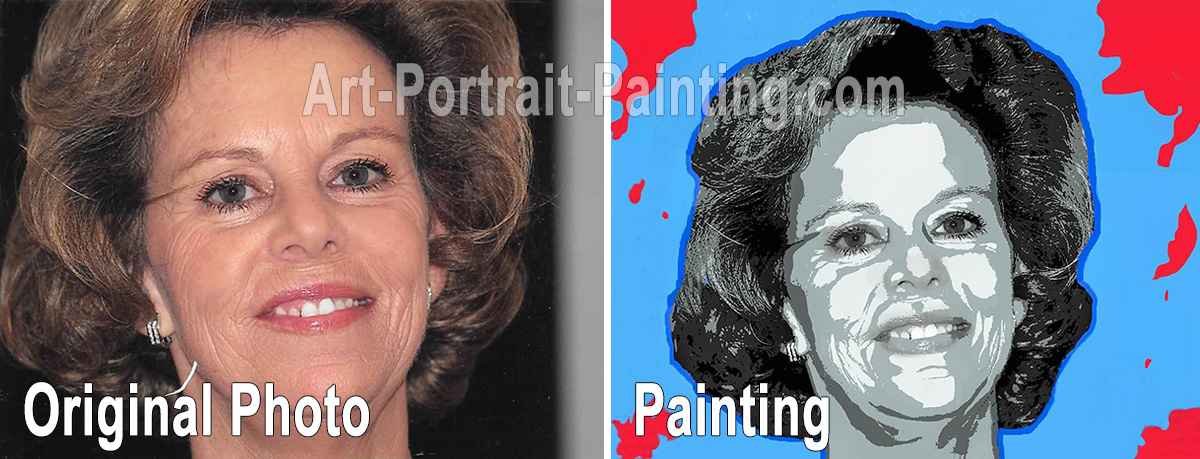 Portrait Painting : Self Portraits
